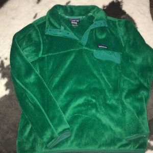 Jackets & Blazers - Green re-tool patagonia
